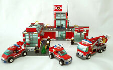 Lego 7945 Fire Station Set & Bonus 7942 Vehicle