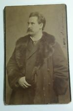 Cabinet Photo Polish German Franz Xaver Scharwenka Pianist Composer Berlin 1888