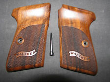 Walther PPKS .22LR CALIBER ONLY! Fine Checkered Walnut Pistol Grips w/Logo NEW!
