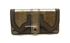 MIMCO XL WORKER LEATHER WALLET IN ELEPHANT PEWTER BNWT RRP$229