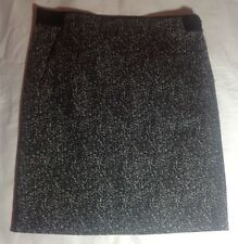 NWT $215 Theory Thais Tweedy Dotted Cotton Skirt Size 2