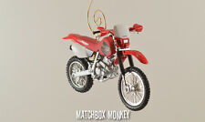 Custom Honda XR 250 R Christmas Ornament 1:24 Motorcycle XR250L XR250R CB750