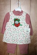 TODDLER GIRL'S CUDDLE BEAR 2-PIECE OUTFIT-SIZE: 18M