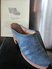 COLLECTIBLE 2000 RAINE JUST THE RIGHT SHOE DENIM BLUES ORIGINAL BOX WITH COA