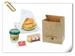 Re-ment Miniatures Petit Sample Bakery Shop Bread Shop bagel sand - No.2
