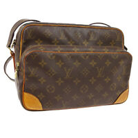 LOUIS VUITTON NILE CROSS BODY SHOULDER BAG PURSE MONOGRAM M45244 A51979