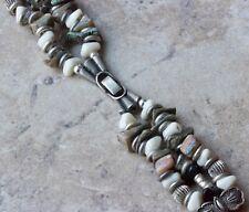 Vintage ladies bangle beaded watch strap Southwestern style watchband bracelet