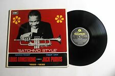 LOUIS ARMSTRONG Satchmo Style LP Parlophone Rec. PMC-7045 UK 1968 VG++ 10C