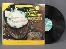 Vintage Michel Legrand Happy Endings Motion Picture Score Record Album Vinyl LP