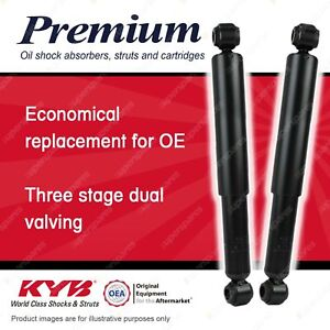 2 x Rear KYB Premium Shock Absorbers for Toyota Coaster BB 40 50 58 HZB50 XZB50