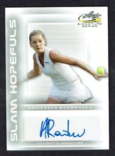 Agnieszka Radwanska #SH-AR1 signed autograph auto 2017 Leaf Tennis Slam Hopefuls