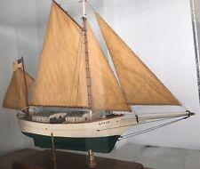 "Antique Model Wood Yacht ""Spray"" Boston, Ma 1895-1909 Joshua Slocum"