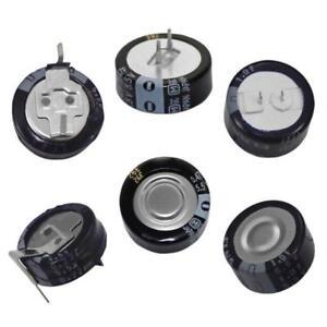 Goldcap Condensateurs 0,22F 0,47F 1F 5,5V Condensateur à couche Dopel