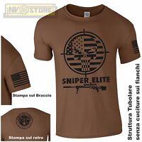 Camiseta GILDAN American Sniper Chris Kyle Calavera Camiseta Hombre ESTAMPADO B