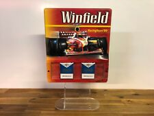 Vintage Retro Winfield Racing Team '99 Tobacco Store Display Advertising Sign
