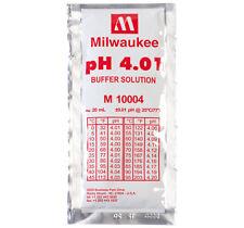Soluzione Calibrazione pH 4.01 buffer solution Milwaukee – Bustina da 20 ml