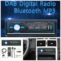 1Din Radio Autoradio Stereo Audio MP3 Player w DAB Support TF USB AM FM RDS AUX