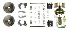 Brake Conversion Kit-Booster Power Front Disc Conversion Front The Right Stuff