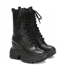 Miu Miu By Prada Boots Black Leather