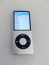 Apple iPod nano 4. Generation Silber (4GB) A1285 gebraucht