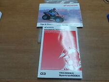 OEM Honda Owners Manual and Tips & Practice 2003 TRX400EX 00X31-HN1-6400