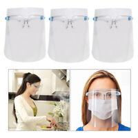 Occhiali Protettivi Trasparenti Con Visiera Integrale Montatura Per Occhiali