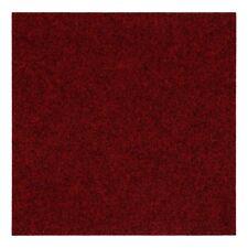 Teppichfliesen selbstliegend Nadelfilz Bodenbelag Fliesen Bolero Rot (13,40€/1qm