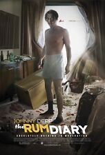 """The Rum Diary movie poster (a) Johnny Depp poster   -  11"""" x 17"""""""