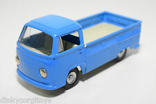 TINPLATE BLECH CKO VW VOLKSWAGEN TRANSPORTER T2 PICK-UP PICK UP BLUE VN MINT
