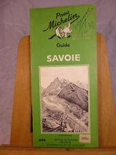 Guide Savoie Michelin 1948 parfait état, 122 pages