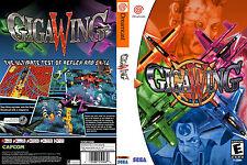 Giga Wing CUSTOM DREAMCAST CASE (NO GAME)