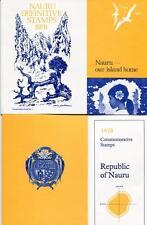 Nauru 1978 both Presentation Packs Definitives and Commemoratives Mint