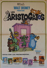 Los aristogatos -- Cartel de Cine Original --