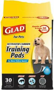 Black Charcoal Puppy Pads Potty Training ABSORB NEUTRALIZE Urine Instantly Pet