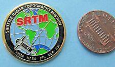 NASA PIN vtg SRTM - Space Shuttle Radar Topography Mission - NIMA JPL DLR ASI