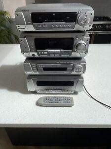 Technics SA-DV290 Separates Stereo Hifi System - CD Tape Remote TESTED POST