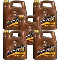 5x PEMCO 4 Liter iPOID 578 75W-80 GL-4 / GL-5 Handschaltgetriebeöl API GL-4