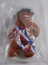 Planet Plush George the Presidential Bear NEW in bag with Registration Card