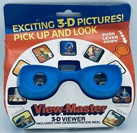 1982 View-Master 3-D Viewer from VMI Group with One Demo Reel -Stock #2049 -Blue