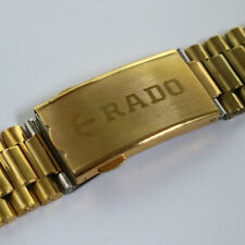 RADO DIASTAR GOLDEN STAINLESS STEEL 18MM BELT FOR MEN'S WRIST WATCH SL11