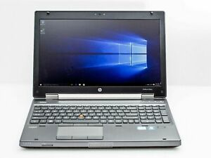 HP Elitebook 8560w Core i7 2.6GHz Gaming Laptop - Create your own specs RAM HDD