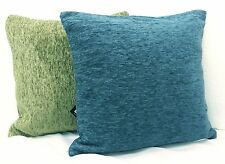 Chenille No Pattern Decorative Cushions