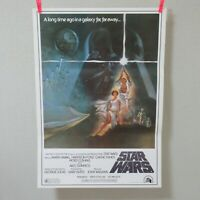 STAR WARS 1977' English dubbed Ver. Original Movie Poster Japanese B2
