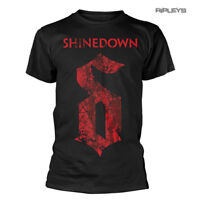 Official T Shirt SHINEDOWN Attention Attention 'The Voices' Logo All Sizes