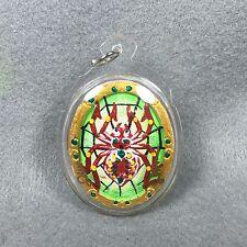 KRUBA KRISSANA Spider back Phra Prom Buddha Thai Amulet Pendant Talisman Magic