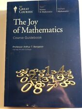 The Joy of Mathematics by Arthur T. Benjamin; The Great Courses Factory Sealed