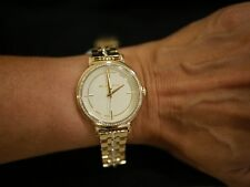 NEW Michael Kors Women's Cinthia Gold-Tone Stainless Steel Bracelet Watch MK3681