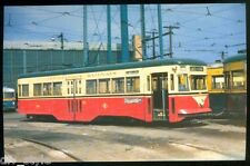Indianapolis Railways streetcar #150  postcard