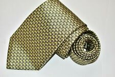 Men's Brioni Green  Silk Neck Tie made in Italy