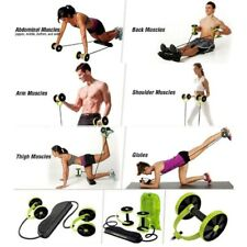AB Wheels Roller Muscle Exercise Equipment Home Fitness Equipment Abdominal